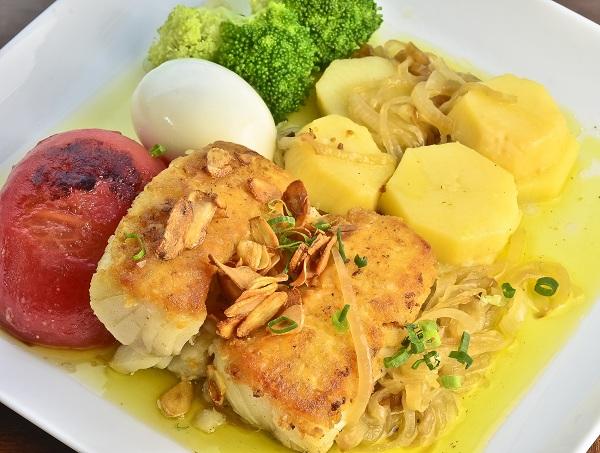 bacalhau forno