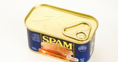 18 Aug 2014 --- Can of Spam with Pop-Top --- Image by © Envision/Corbis